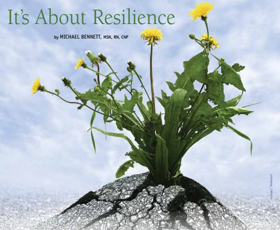 It's About Resilience
